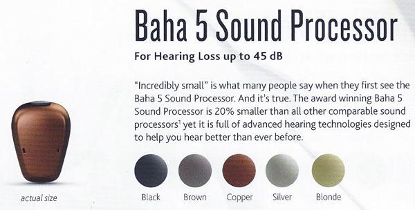 cochlear baha 5